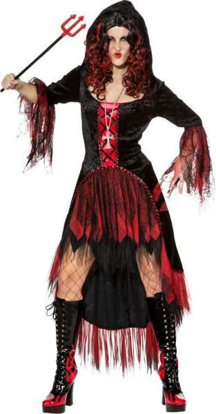 Kirlia devil sposa abito con cappuccio