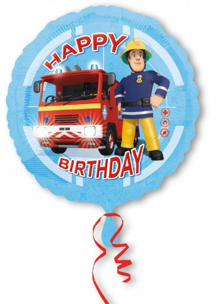 Fireman Sam birthday balloon