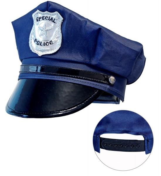 Klassische Polizeimütze für Kinder