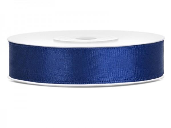 Bellissimo nastro in raso blu navy 12mmx25m