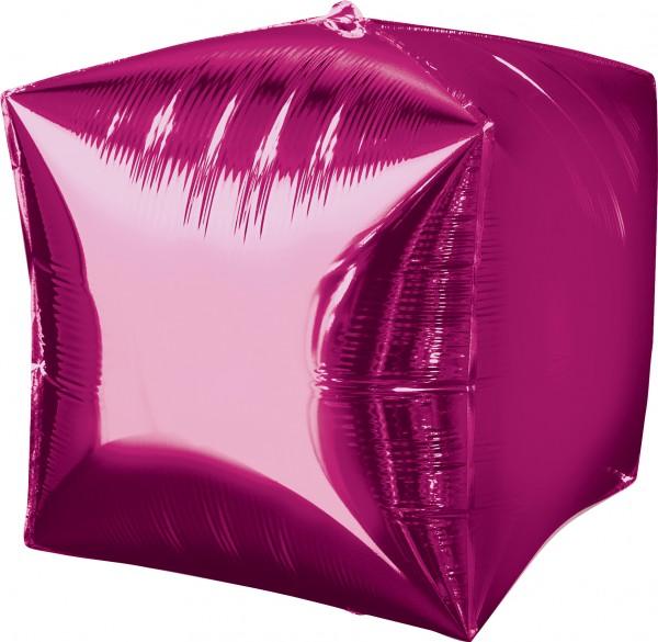 Würfelballon Magenta