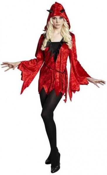 Disfraz de mujer Devilish Nastasia