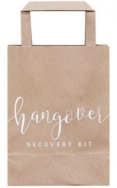 5 bolsas de papel Kit de recuperación de resaca 26.5cm