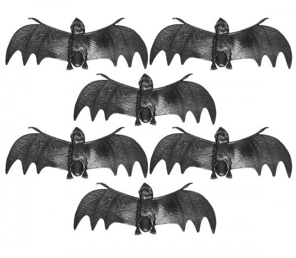 6 murciélagos de decoración Feramas