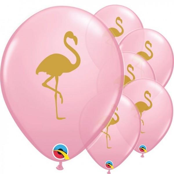25 Flamingo Garten Luftballons 28cm