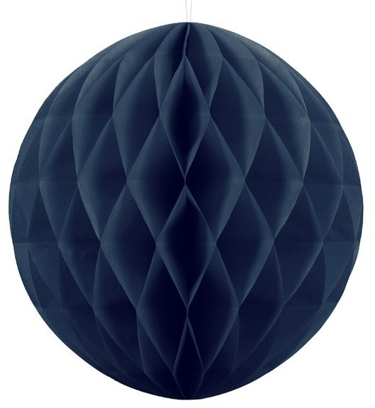 Honeycomb ball Lumina dark blue 40cm