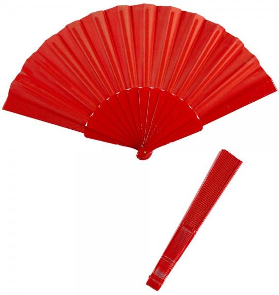 Red fan 23cm