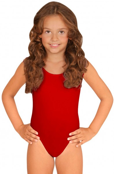 Roter Kinderbody