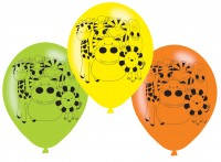 6 Safari Party Luftballons 23cm