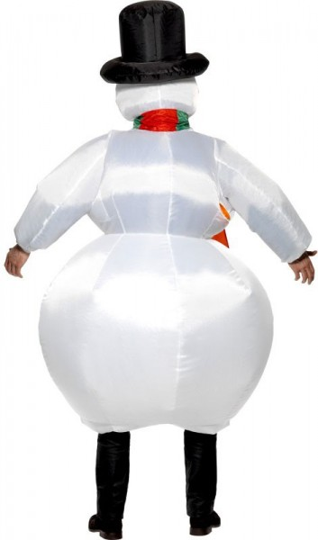 Inflatable Olly snowman costume