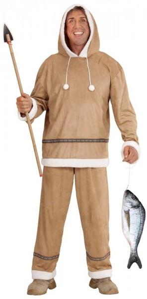 Fisch am Haken Kostümaccessoire