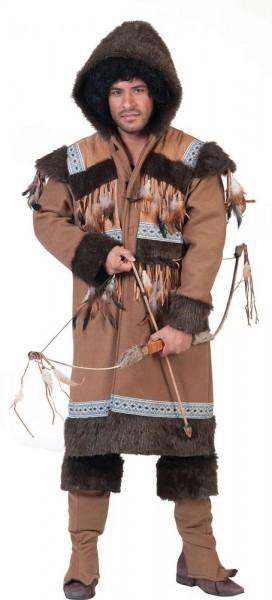 Inuit Eskimo Kostüm für Herren