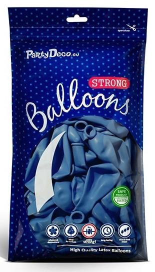 10 Partystar Luftballons royalblau 30cm