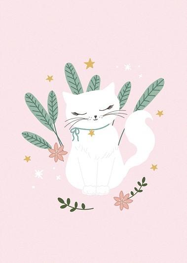 6 Katze Kiki Malblöcke