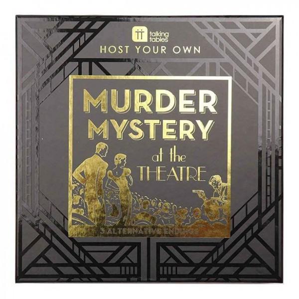 Murder Mystery at the theatre Partyspiel