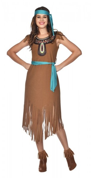 Kostium Indianka Fala