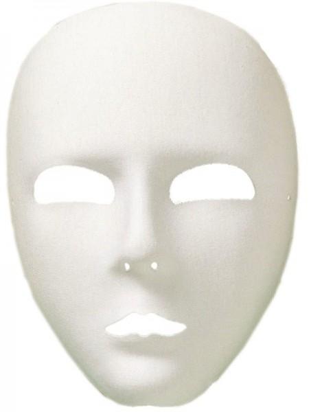 Masque fantôme classique en blanc