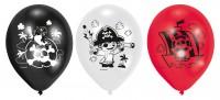 6 Piraten Ballons Abenteuerliche Schatzsuche