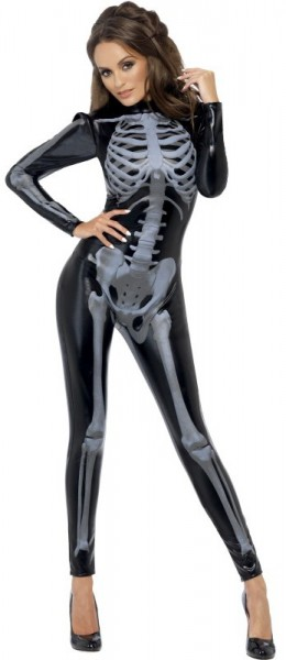 Gloomy skeleton lady costume