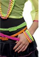 Kunterbunte Neon Perlenarmbänder
