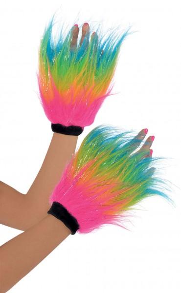 80er Jahre Neon Handstulpen