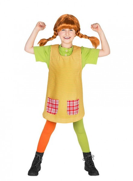 Pippi Longstocking children's costume