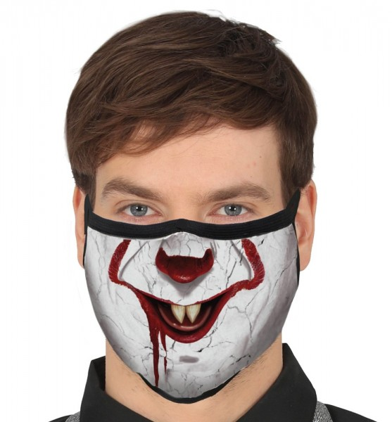 Mondneusmasker lachen horror clown