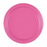 8 Papier-Teller Mila rosa 22,8cm