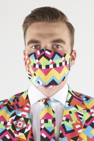 OppoSuits Abstractive Mund Nasen Maske