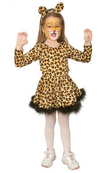 Leoparden Prinzessin Kinderkostüm