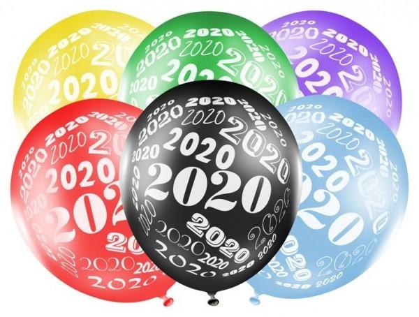 50 Welcome 2020 Luftballons 30cm