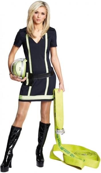 Brandweerman vrouw Jolie dames kostuum