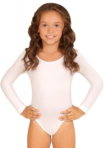 Body blanco clásico para niños