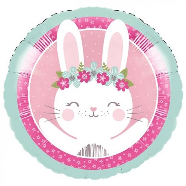 Balon foliowy Słodki króliczek 46cm