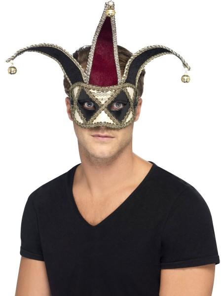 Maschera arlecchino veneziana