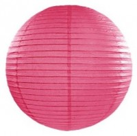 Lampion Lilly pink 20cm