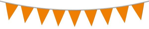 Wimpelkette Oranje 10m