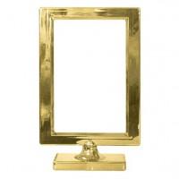 Goldener Rahmen Tischdeko 19,5cm