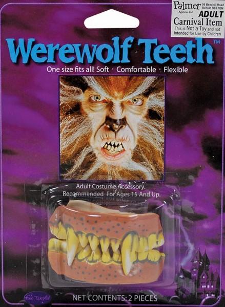 Werwolfgebiss Fangzähne