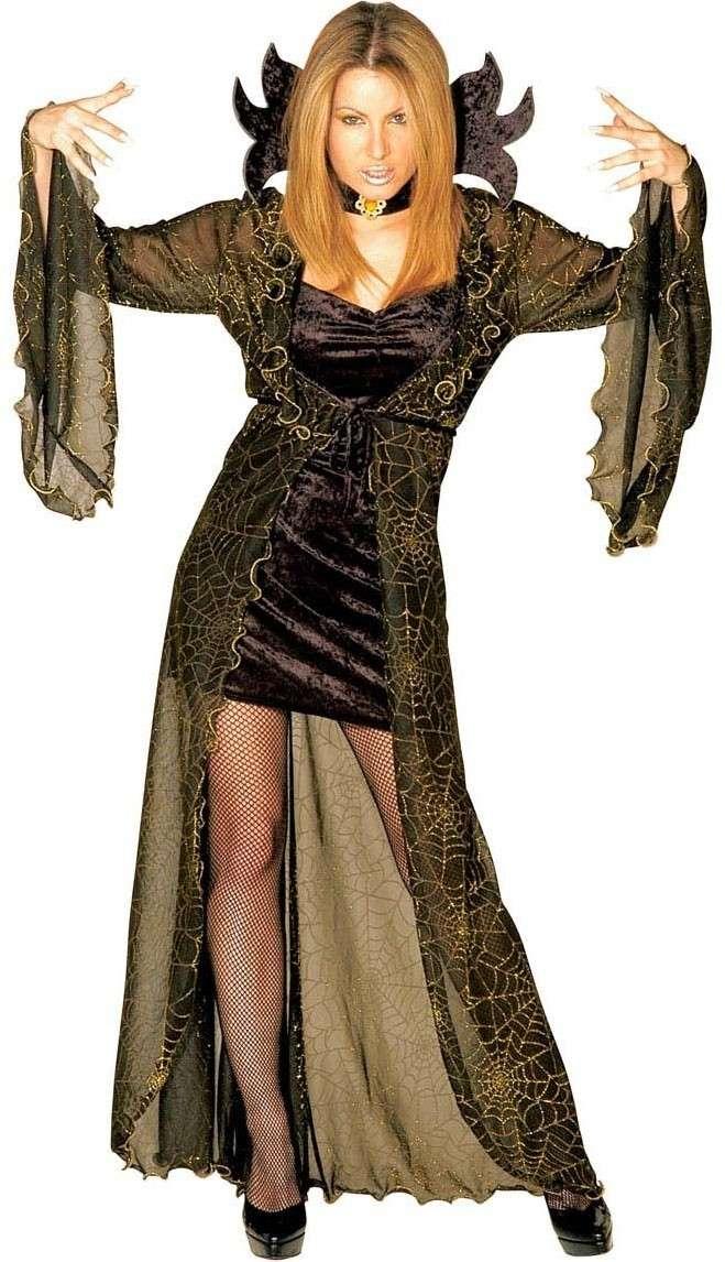 Konigin Der Spinnen Halloween Kleid Damen Party De