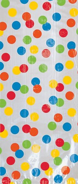 Sac cadeau Happy Birthday Rainbow Party 30,5x11,4cm