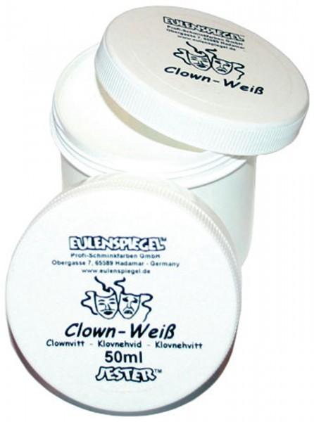 Clown-Weiß Profi-Schminke
