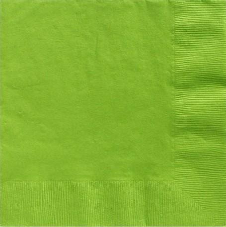 20 Lindgrüne Servietten Basel 25cm