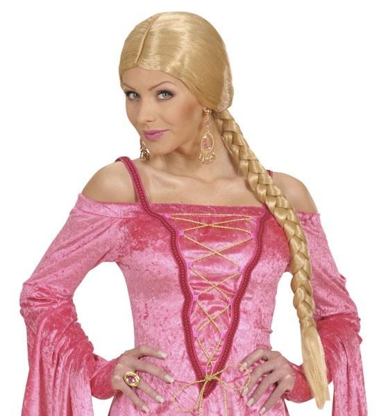 Perücke Mit Zopf Mittelalter Prinzessin