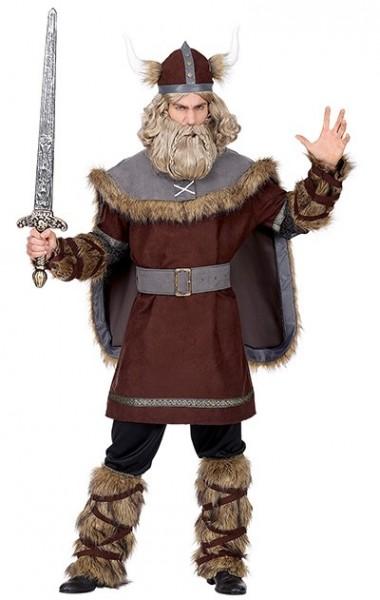 Déguisement viking impitoyable pour homme