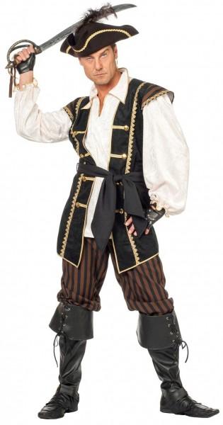 Mörderisches Piraten Herrenkostüm
