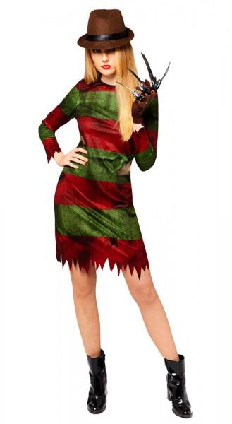 Freddy Krüger Kostüm für Damen