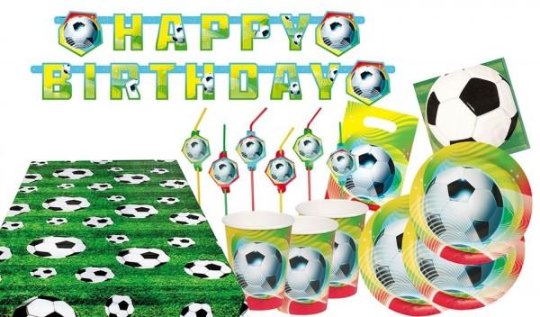 48 Teiliges Fussball Geburtstag Party Set Party De