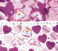 Fashion Queen Streudeko Pink Für Kleine Prinzessinnen