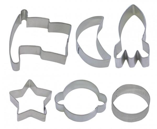 6 couteaux spatiaux